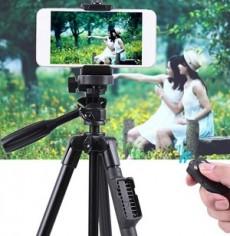 Đế Tripod Yunteng 5208 cho điện thoại và máy ảnh