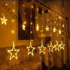 Đèn rèm led ngôi sao
