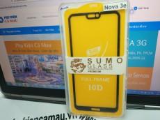 Kính cường lực Huawei Nova 3e  full keo (2D5D9H....)