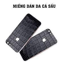Miếng dán da cá sấu iphone