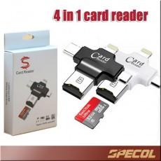 OTG 4in1 Card Reader