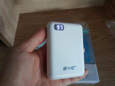 Pin sạc dự phòng SYC 10000 mah - 350 LCD