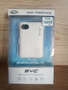 Pin sạc dự phòng SYC 10.000mAh P259