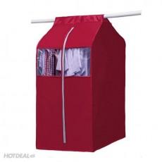 Túi treo quần áo chống bụi có khóa kéo