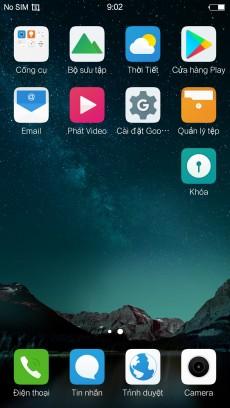 Vivo X6D Nạp TV-CHPlay