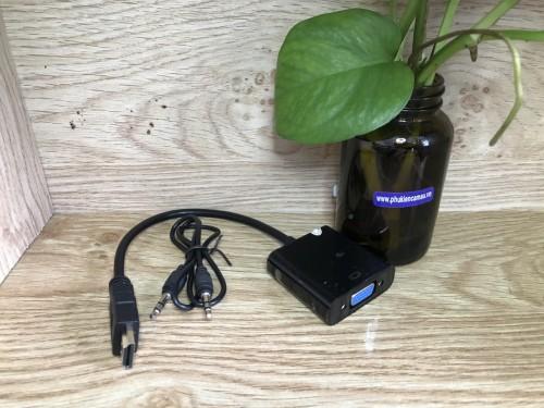 Cáp HDMI -> VGA ( có audio )