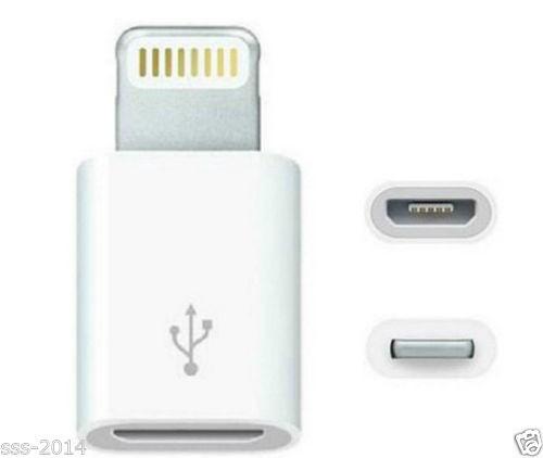 Đầu chuyển micro USB sang lightning