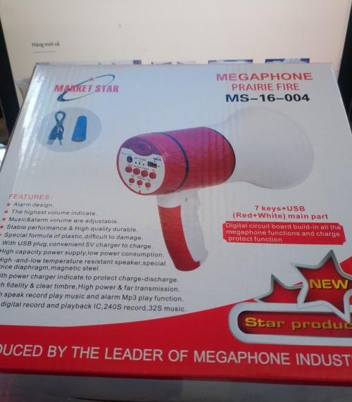 Loa phóng thanh có ghi âm MS-16-004