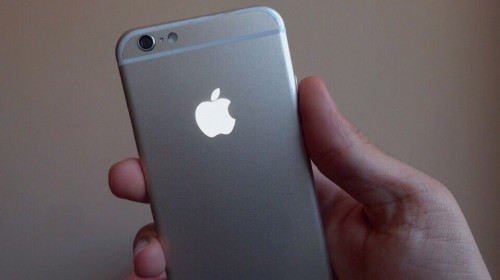 Dây logo iphone phát sáng