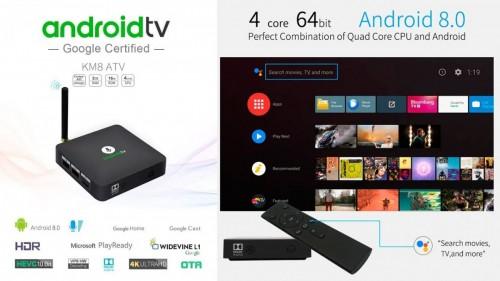 Phụ Kiện Cà Mau - MECOOL KM8 Android TV 8 0