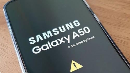 Samsung A50 lỗi phần mềm