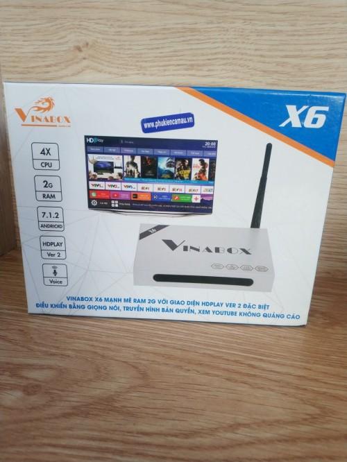 Tivi Box Vinabox X6-2G